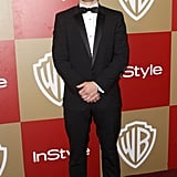 Josh Hutcherson posed in a tux.