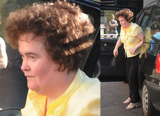 Britain's Got Talent Runner Up Susan Boyle Has Been Taken To The Priory Clinic Suffering From Exhaustion
