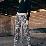 The Brushed Leopard Jogger