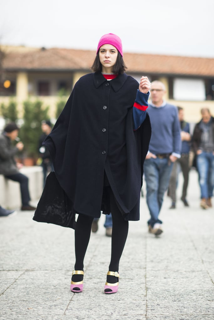 Don't let the cold get you down; take it as an opportunity to sport great outerwear.  Source: Le 21ème | Adam Katz Sinding