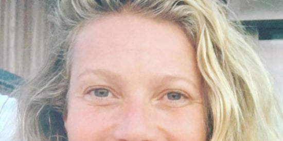 Gwyneth Paltrow Radiates The Glow Of Moon Dust In No-Makeup Selfie