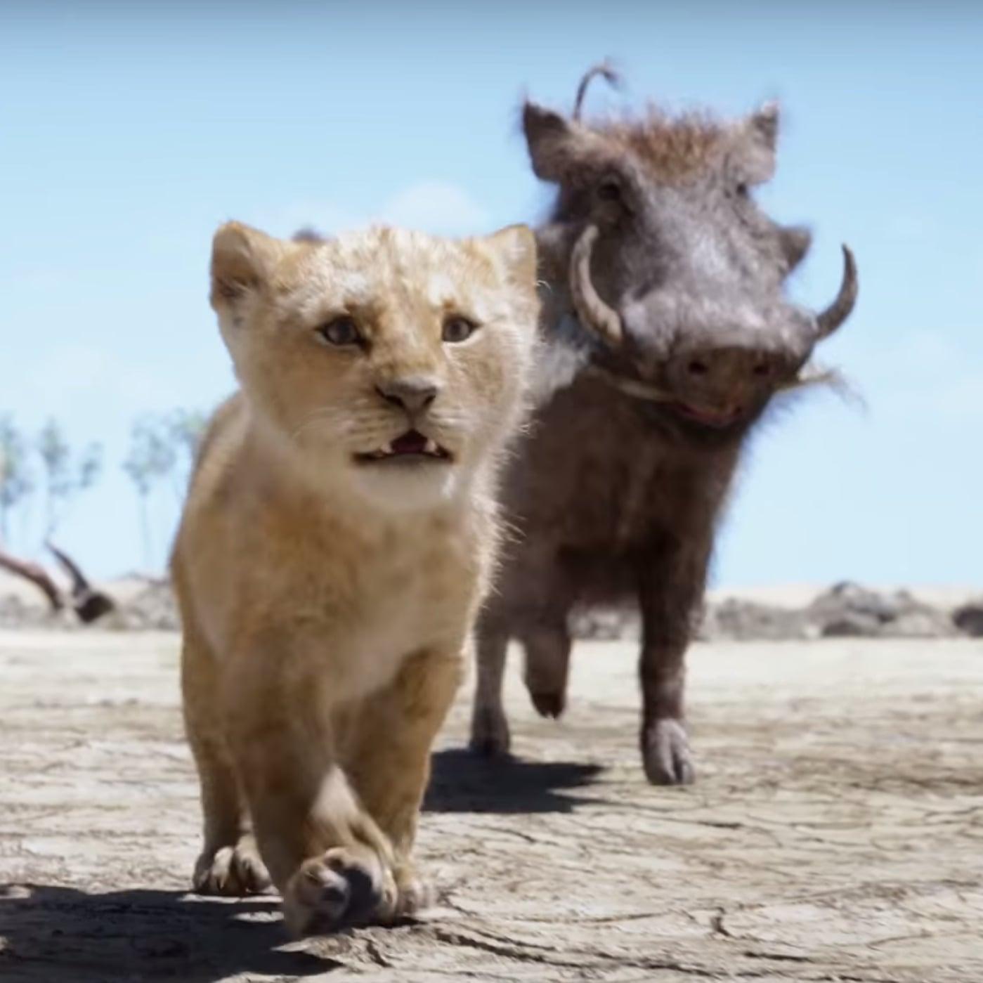 The Lion King Cast Singing Hakuna Matata Video 2019 Popsugar Entertainment