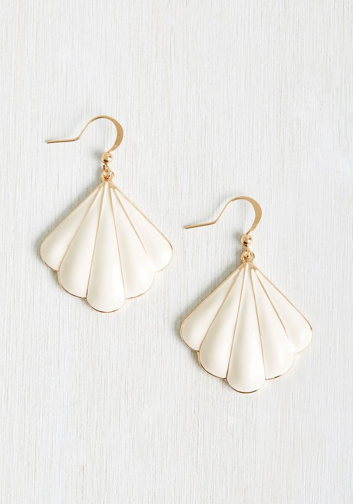 Shell-ing Point Earrings ($13)