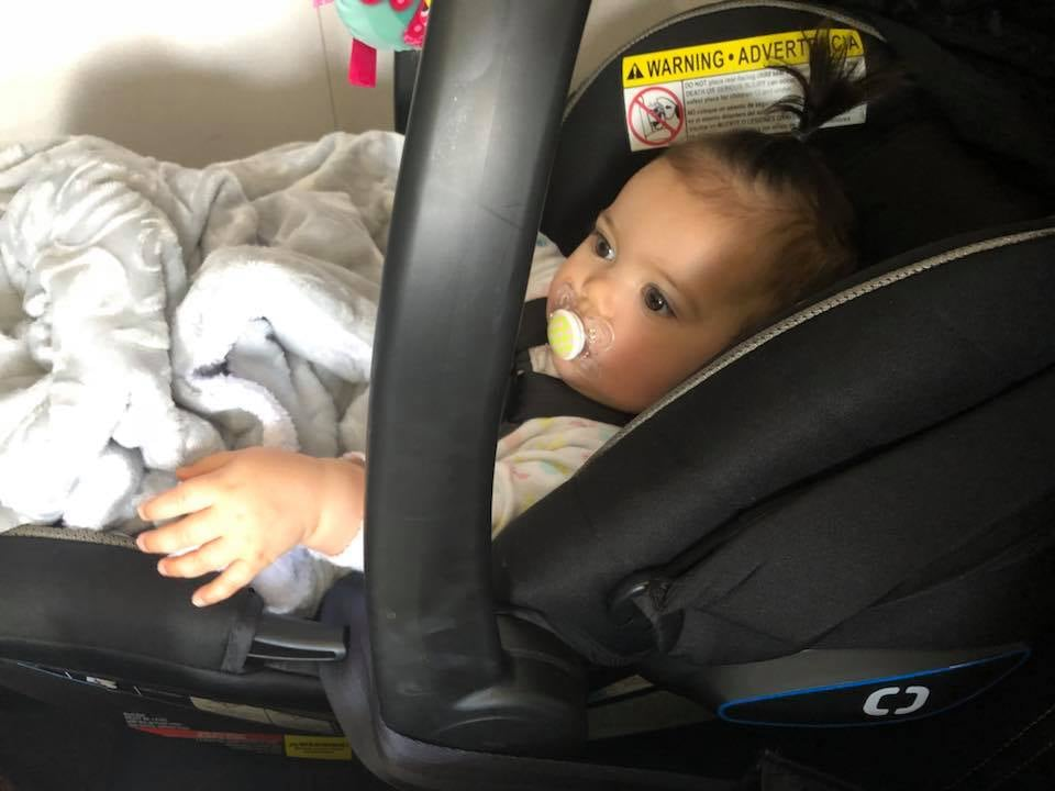 Mom Forced To Fly With A Car Seat In An Unsafe Position Popsugar