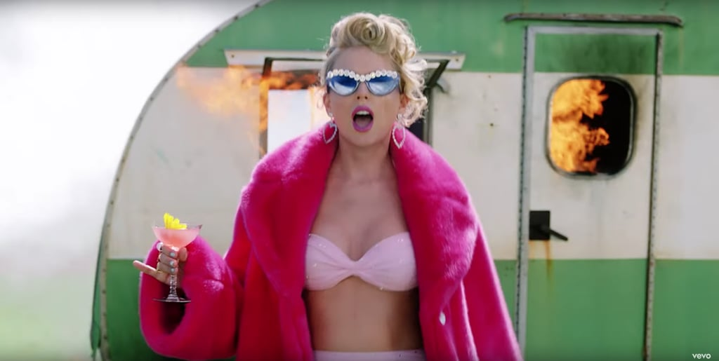 "Taylor Swift's Pink Bikini in the ""You Need to Calm Down"" Music Video"