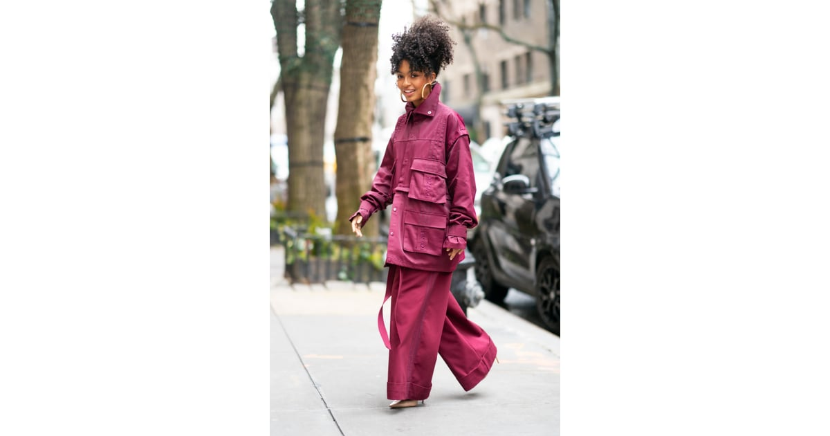 Fashion Shopping Style Yara Shahidi Makes Track Pants