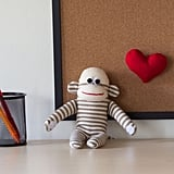 Monitor Topper Sock Monkey