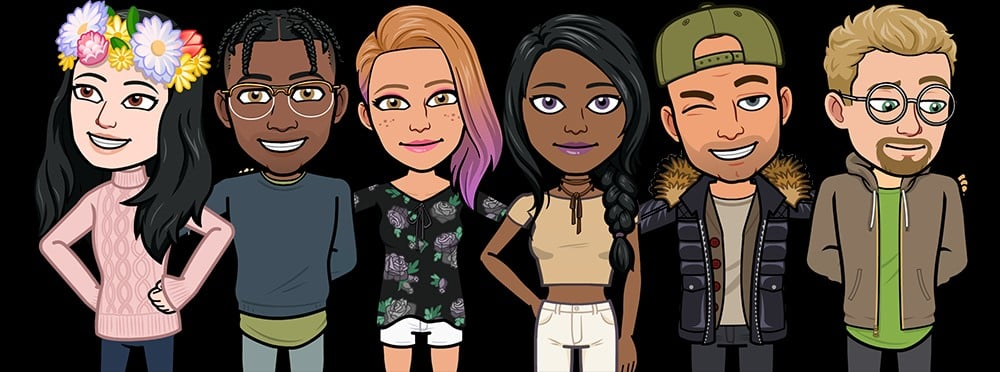 how to add snapchat filters to your bitmoji