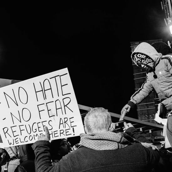 Photos of Protest at JFK Airport