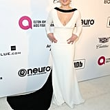Erika Christensen at the 2019 Elton John AIDS Foundation Academy Oscars Party