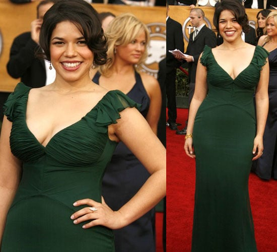 SAG Awards Red Carpet: America Ferrera