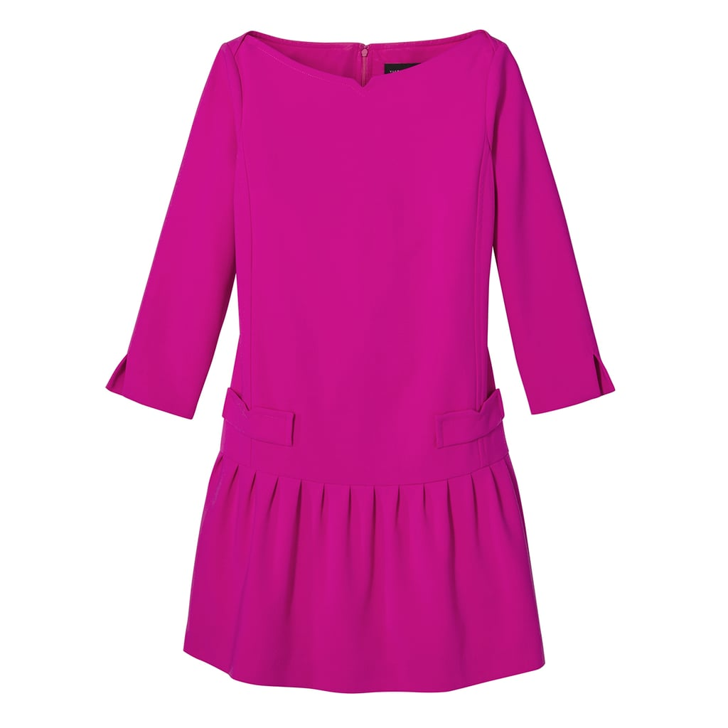 Fuchsia Jacquard Drop Waist Dress ($40)