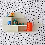 Drew Barrymore Flower Kids Marshmallow Whale Wall Shelf