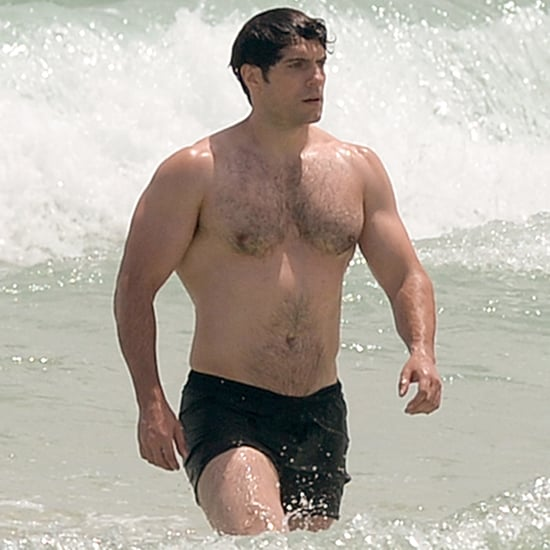 Henry Cavill Shirtless in Miami August 2016