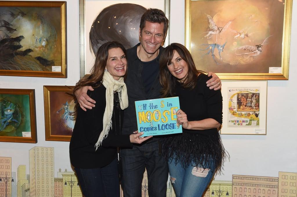 Peter Hermann and Mariska Hargitay at Book Launch March 2018