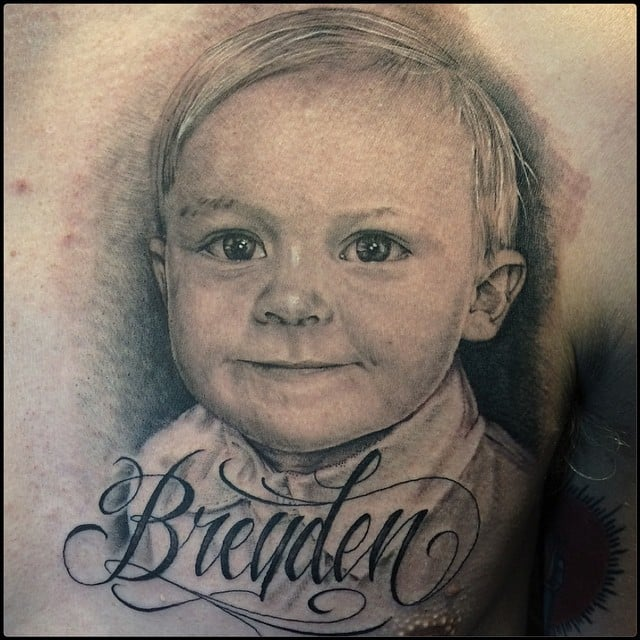 14 Tattoo Ideas For Parents Wanting To Honor Their Kids: Tattoos To Represent Baby Or Child