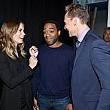 Emily Blunt and Chiwetel Ejiofor