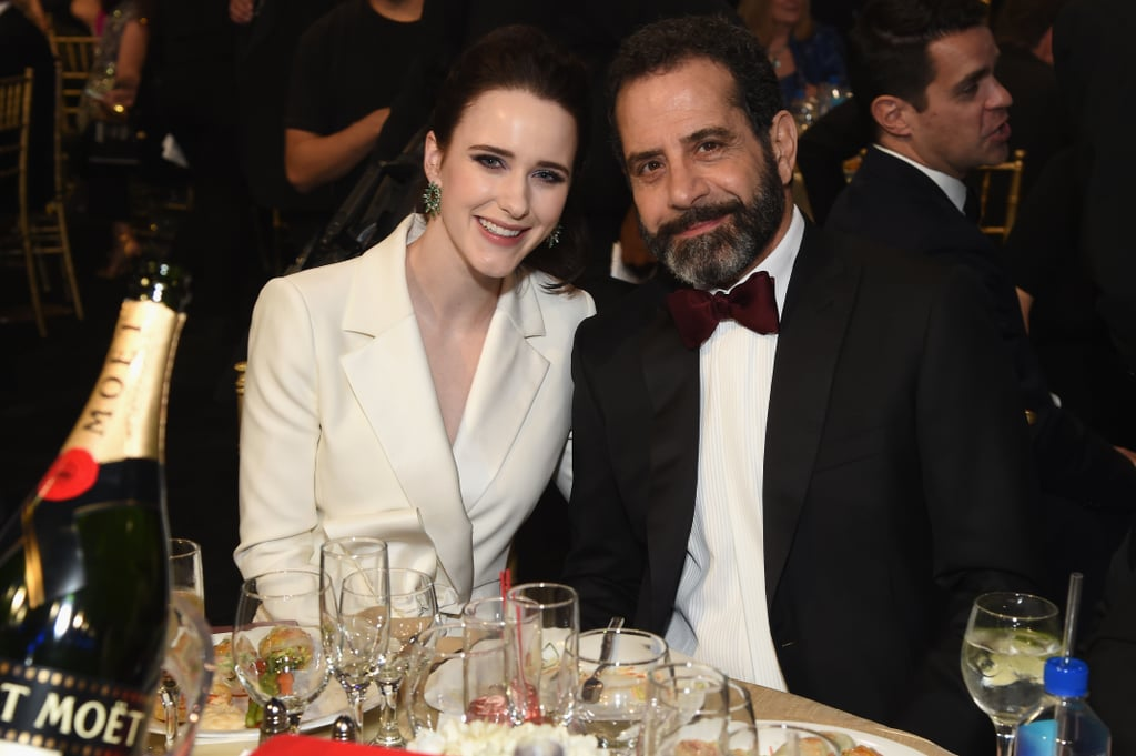 Pictured: Rachel Brosnahan and Tony Shalhoub
