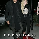 Ashlee Simpson brought her boyfriend, Evan Ross, to the dinner.