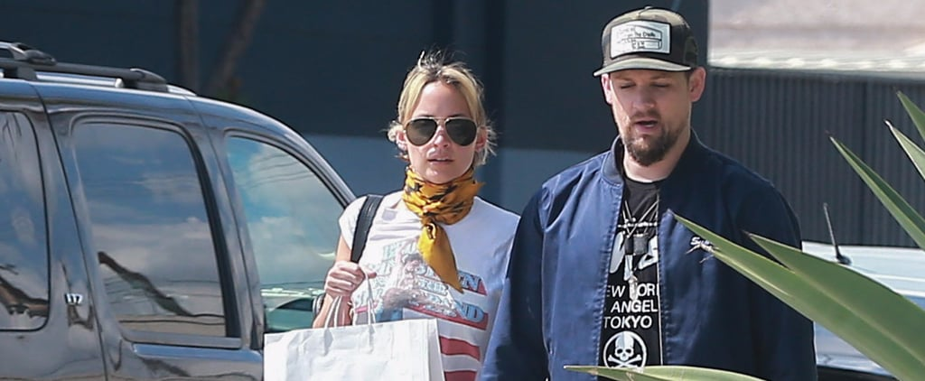 Nicole Richie and Joel Madden Enjoy a Sweet Stroll Together in LA