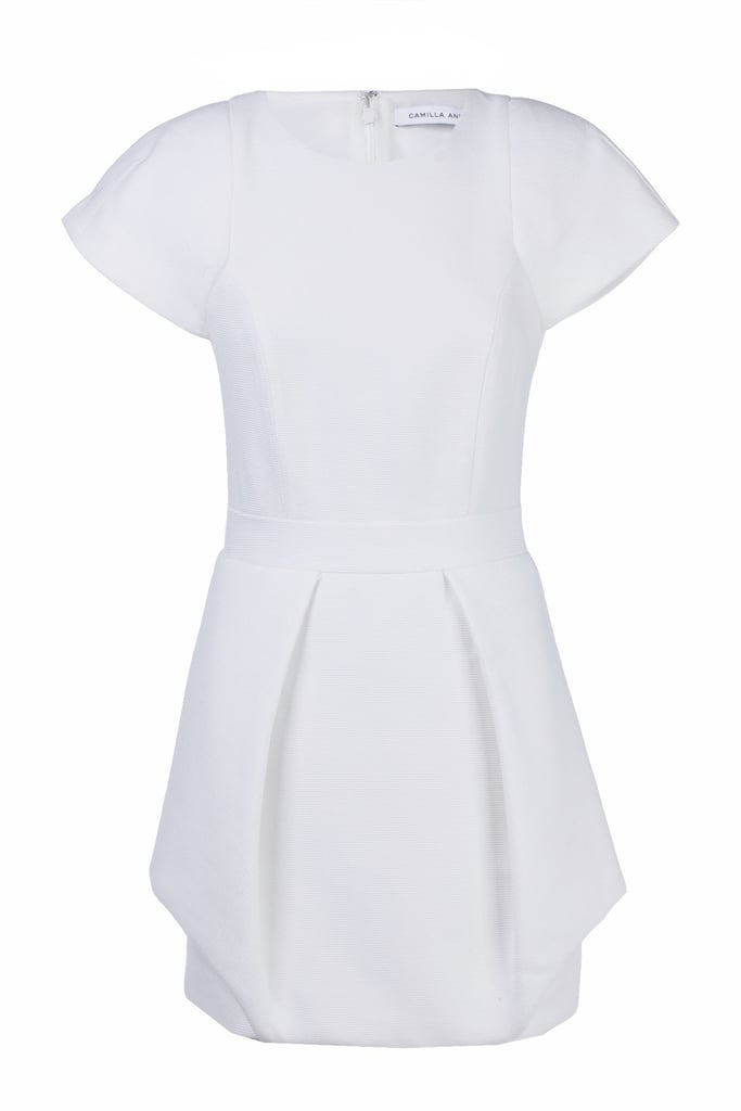 I plan on making the hat the centre-piece and therefore want something relatively plain to accompany it so as not to distract the eye. I'm heading to Melbourne for Derby Day so this white Camilla and Marc dress is perfect (plus on sale too!). —Laura, Shopstyle Australia country manager Dress, $295,Camilla and Marc