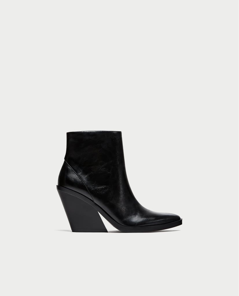 Ankle Boots with Thick Sole (£50)