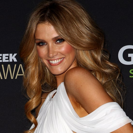The Voice's Delta Goodrem's Hair and Makeup at the 2012 Logies
