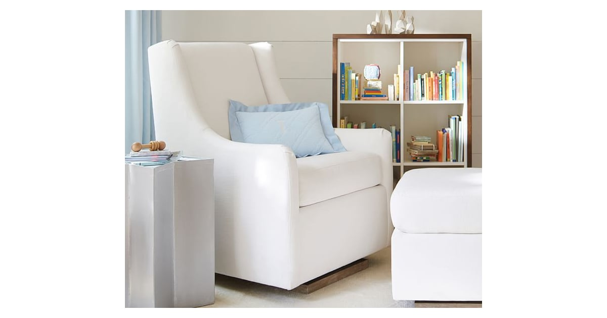 pottery barn merced glider must have baby gear. Black Bedroom Furniture Sets. Home Design Ideas