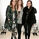 Pip Edwards, Julia Wilson and Constantina Mittas at the Louis Vuitton Bondi store opening in 2009