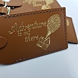 """Adventure Is Out There"" Disney Luggage Tag"