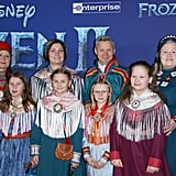 Per Olof Nutti and Family at the Frozen 2 Premiere in Los Angeles