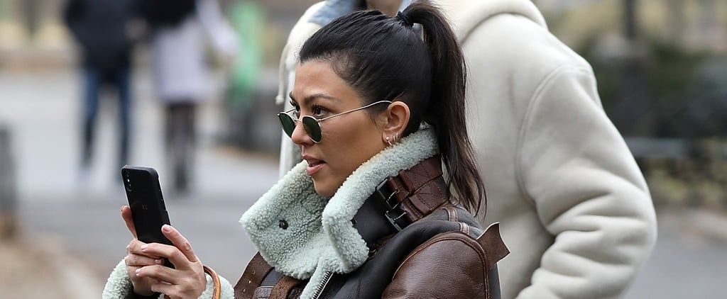Kourtney Kardashian Is Carrying a Mini Designer Bag That Baby Stormi Just Might Inherit