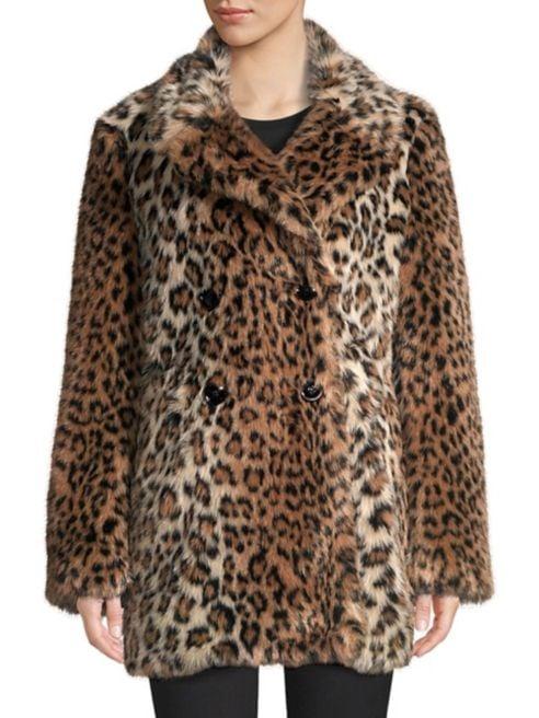 Joie Faux-Fur Coat
