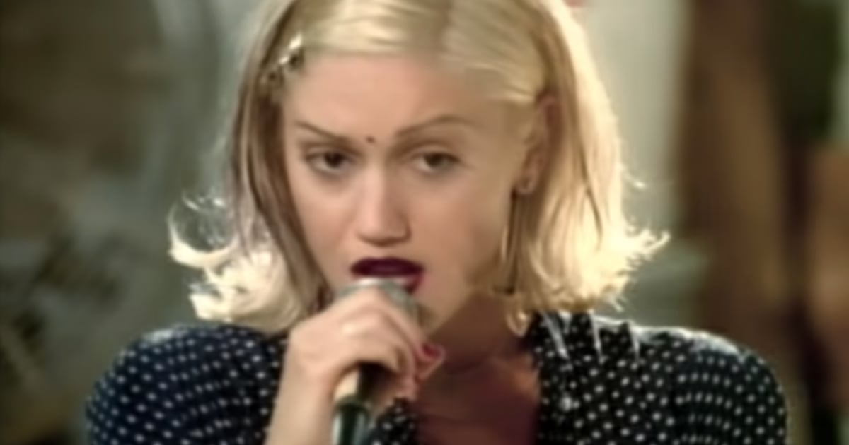"Gwen Stefani Added ""a Little Bit of Blake"" While Rewearing Her ""Don't Speak"" Video Dress.jpg"