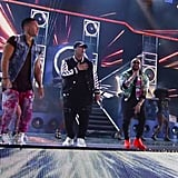 Chino y Nacho and Daddy Yankee Performing a Medley of Songs