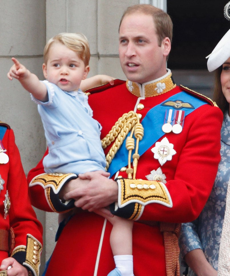 Pointing Stuff Out For Dad: Prince George