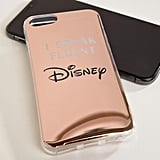 Typo Fluent in Disney Metallic Phone Case