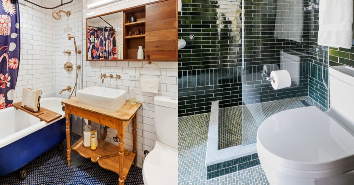 These Photos Make Small Bathrooms Feel Beautiful, Bright, and — Most Importantly — Big