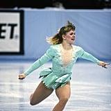Harding's Turquoise 1991 US Figure Skating Championships Costume