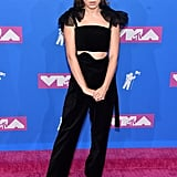 At the MTV VMAs, Millie chose a Rosie Assoulin ensemble.