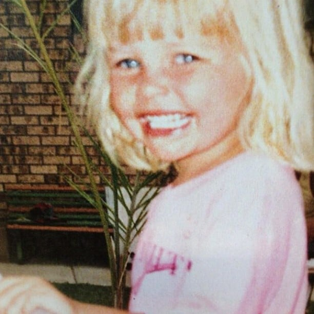 A cute photo of young Lara Bingle is featured in Who magazine's 20th anniversary issue. Source: Instagram user mslbingle