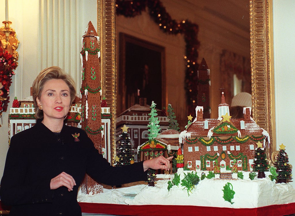 Hillary Clinton, 1999 | First Lady Christmas Pictures | POPSUGAR ...