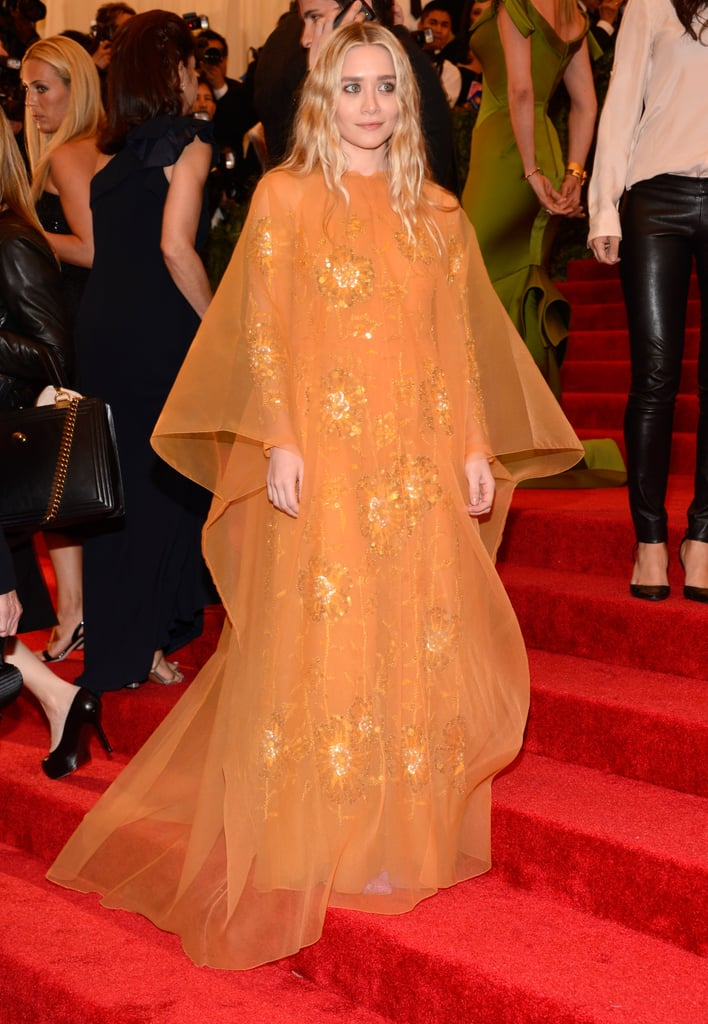 Ashley Olsen at the Met Gala 2013.