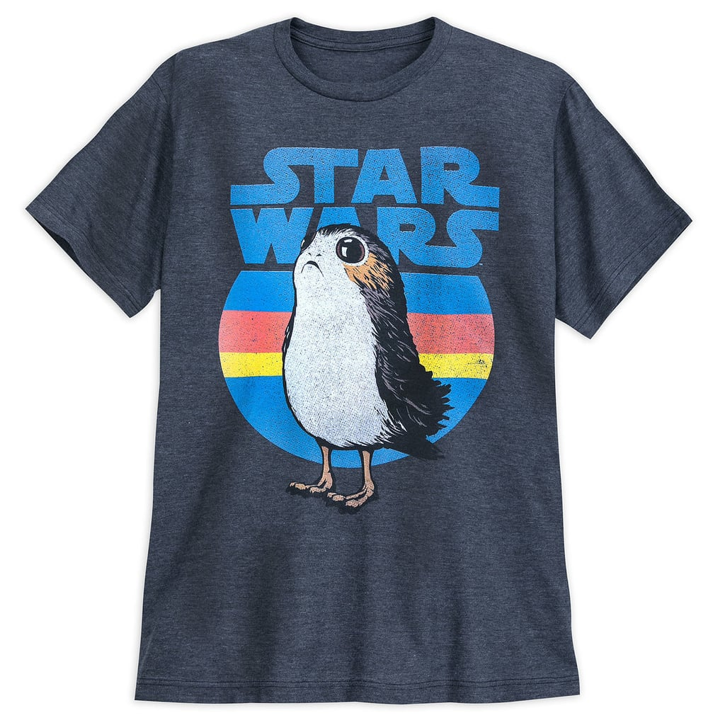 Star Wars Porg T Shirt For Adults Cheap Disney Gifts For Adults