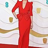 Gemma Whelan at the 2020 BAFTAs in London