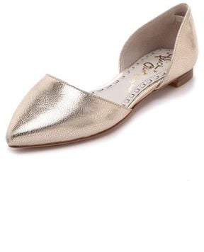 These Alice + Olivia Hillary d'Orsay flats ($240) are a high-wattage update on your everyday ballet flat.