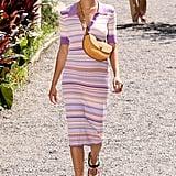 Spring Fashion Trends 2020: Striped Knit Dress