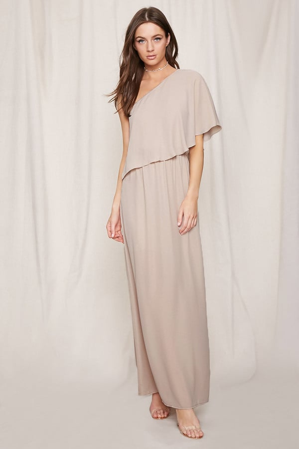 Forever 21 FOREVER 21+ Pretty by Rory Chiffon Maxi Dress