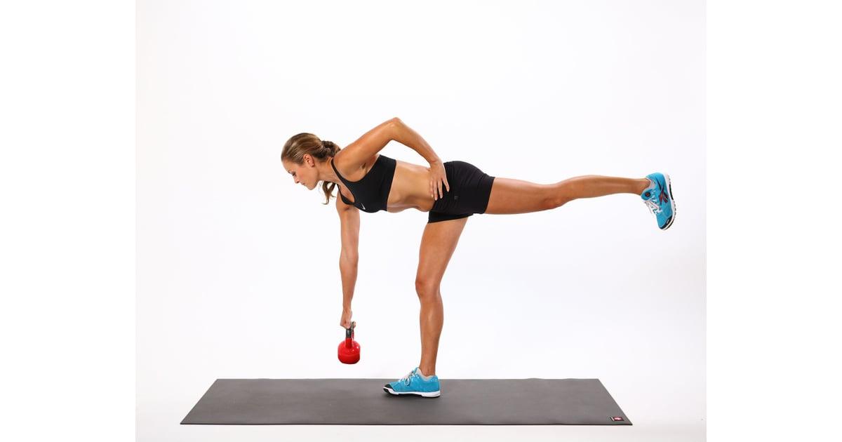Kettlebell Deadlift | Kettlebell Exercises For Weight Loss ...