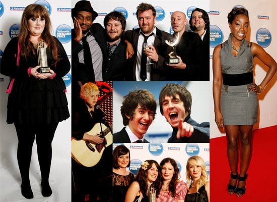 Photos From The Mercury Music Award Ceremony, Including Winners Elbow, Adele, Estelle, Laura Marling, Alex Turner, Miles Kane